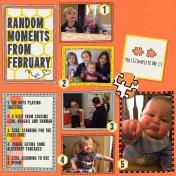 Random-ness from February 2015