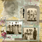 Wedding page-sepia tones