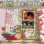 Birthday Pizza