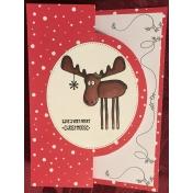 Christmoose Flip Card