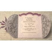 Hybrid Wedding invitation/ inside text design