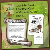 Snarky Christmas Card Award 2020