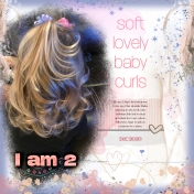 Soft Lovely Baby Curls