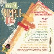 My Simple 13