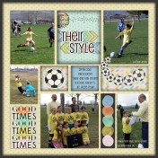 Soccer style