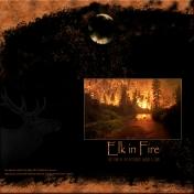Elk in Fire