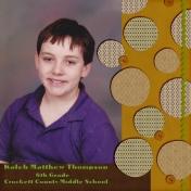 Kaleb 6th grade