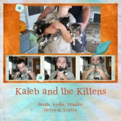 Kaleb & kittens