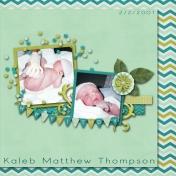 Kaleb's Birth