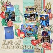 Art of Animation- Little Mermaid