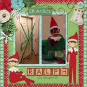 Ralph, our Elf on the Shelf