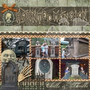 Haunted Mansion- Magic Kingdom- Disney World