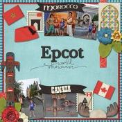 Epcot: Morocco & Canada
