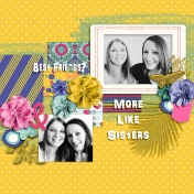 Glitter Girl Layout 03