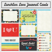 Lunchbox Love Journal Cards