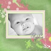Sophia- Prematurity Awareness Month