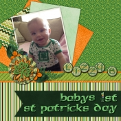Baby's First St. Patrick's Day