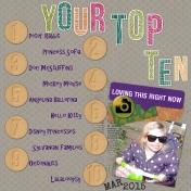 Your top ten