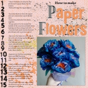 Paper Flowers, right