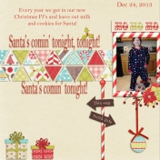 Santa's coming tonight