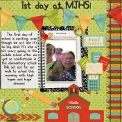 1st day at MJHS