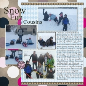 Snow Fun with Cousins