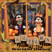 Harvest Mickey and Minnie