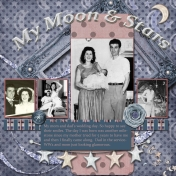 Mom & Dad My moon & stars