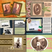 50th Anniversary Scrapbook for My Parents- Mom1