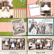 50th Anniversary Scrapbook for My Parents- Mom2