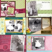 50th Anniversary Scrapbook for My Parents- Mom4