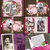 50th Anniversary Scrapbook for My Parents- Mom6