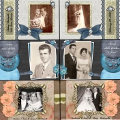50th Anniversary Scrapbook for My Parents - Mom7