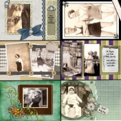 50th Anniversary Scrapbook for My Parents- Dad1