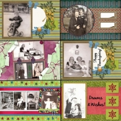 50th Anniversary Scrapbook for My Parents- Dad3