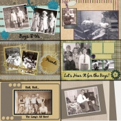 50th Anniversary Scrapbook for My Parents- Dad5
