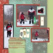 Snow Day Sledding 2009