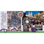 2011 Spanish Steps- Rome, Italy