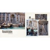 2011 Trevi Fountain Cont.- Rome, Italy