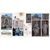 2011 Trevi Fountain Cont. 2- Rome, Italy