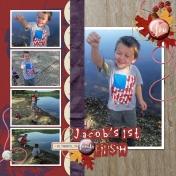 Jacob's 1st Fish