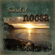 Sunset At Noosa