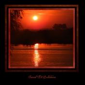 Sunset in Botwana
