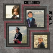 Children of the Sapa Region