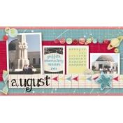 August 2014 Desktop Calendar