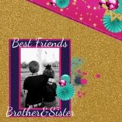 Siblings, Friends