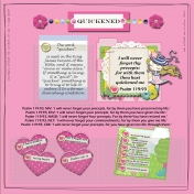 Bible Journal Page - Quickened