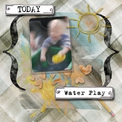 Today- Water Play