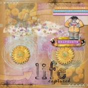 Life Captured- art journal