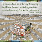 Birdsong – Solitude Art Journal